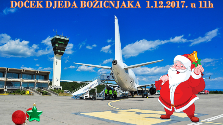 Santa Claus is coming to Rijeka Airport
