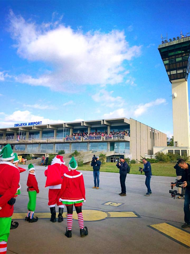 Santa Claus visited Rijeka airport!