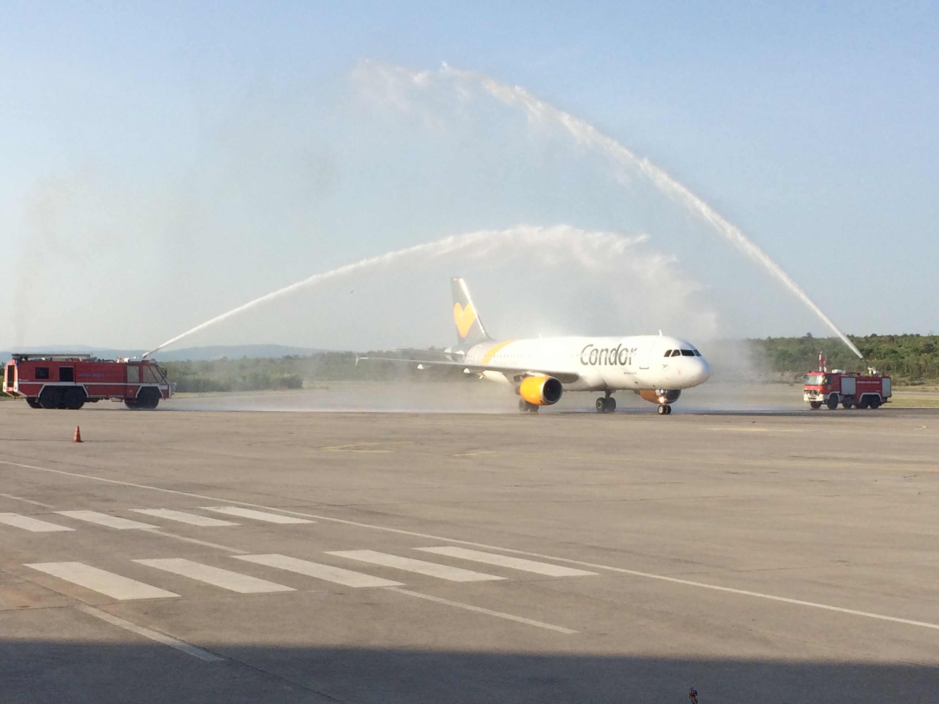 Official inauguration of first Condor aircraft!