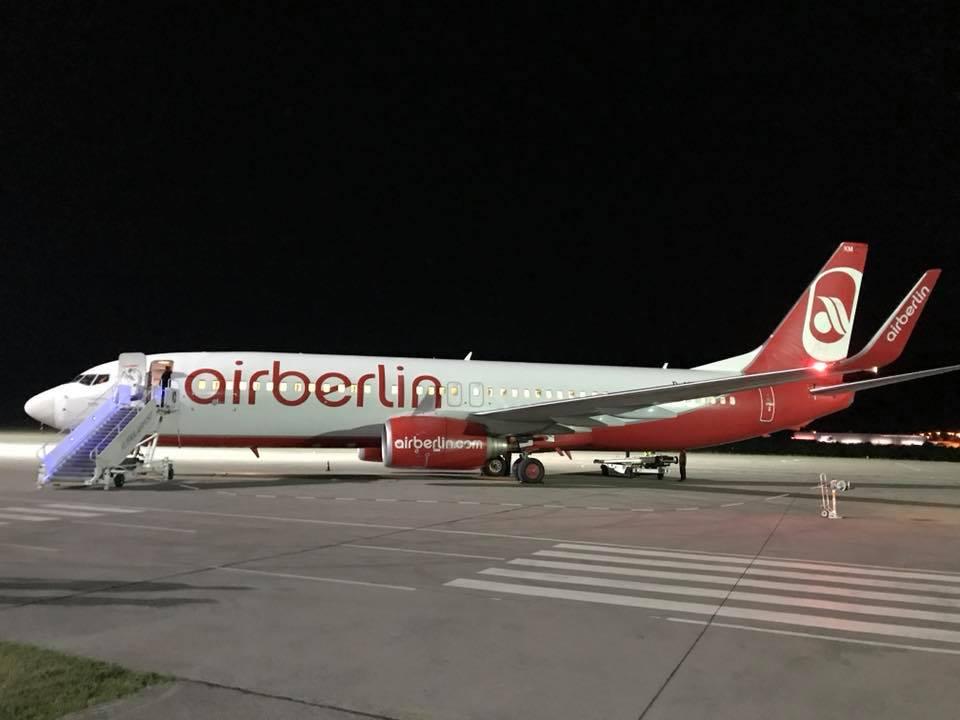 Dočekan prvi ovogodišnji let iz Hannovera