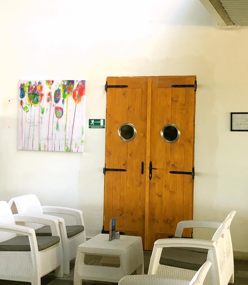 Uređenje interijera dijelima poznate riječke umjetnice Mirne Sišul