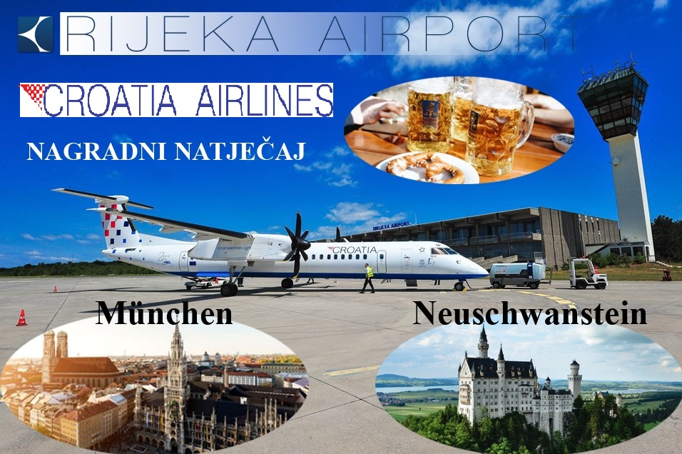 Novi nagradni natječaj u suradnji sa Croatiom Airlines!