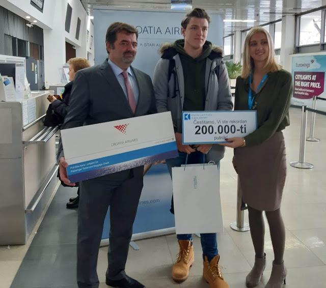 Rijeka Airport reaches record passenger traffic!